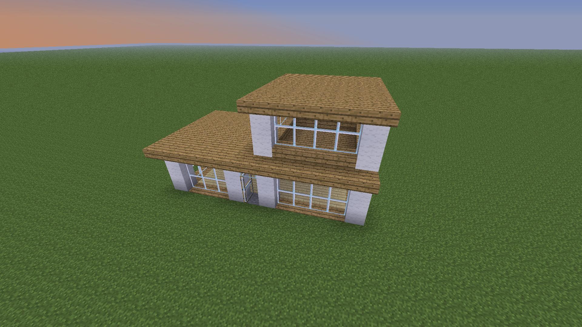 Modern House Minecraft Tutorial