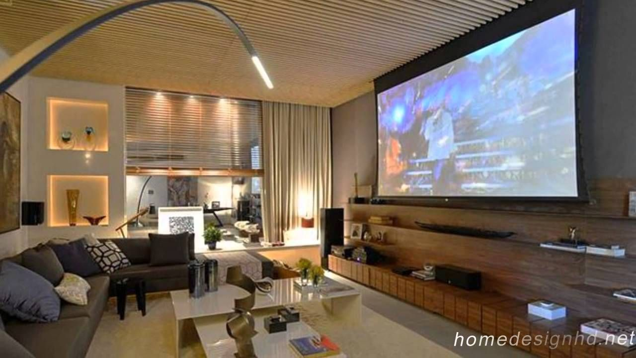 16 Simple Elegant And Affordable Home Cinema Room Ideas Design Adorable Living Room Home Theater Ideas Design Decoration