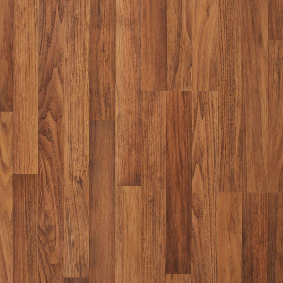 Allen Roth 7 96 In W X 3 97 Ft L Toasted Ernut Embossed Wood