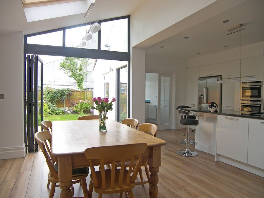 Kitchen Extension Similar Layout With Utility Room At