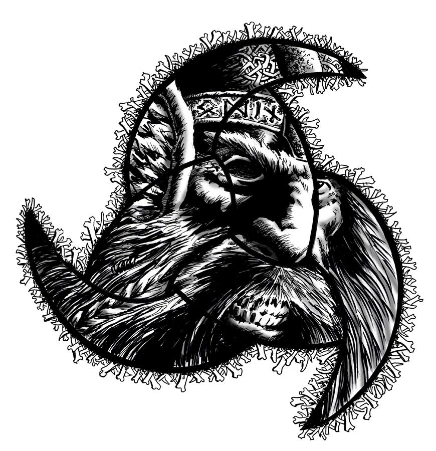 Triple Horn of Odin by vikingmyke.deviantart.com on @DeviantArt ...