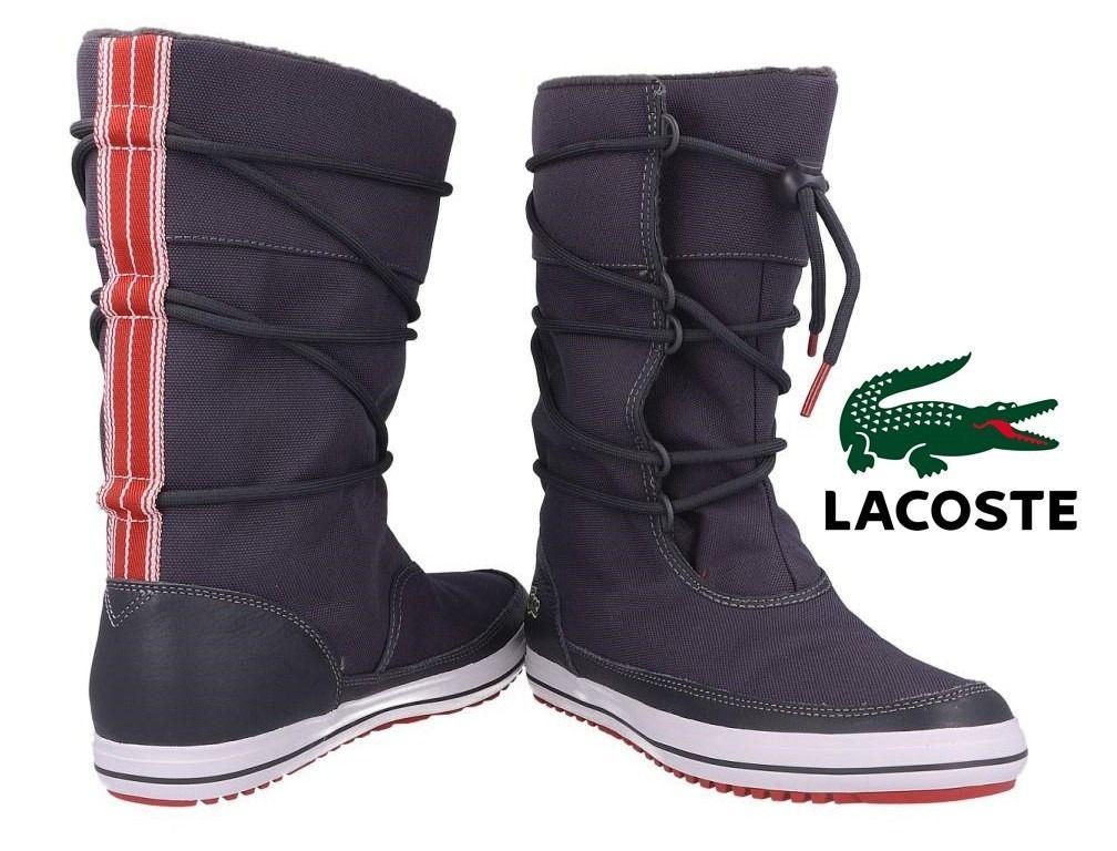 botas de invierno lacoste originales nuevas zapatillas mujer ...