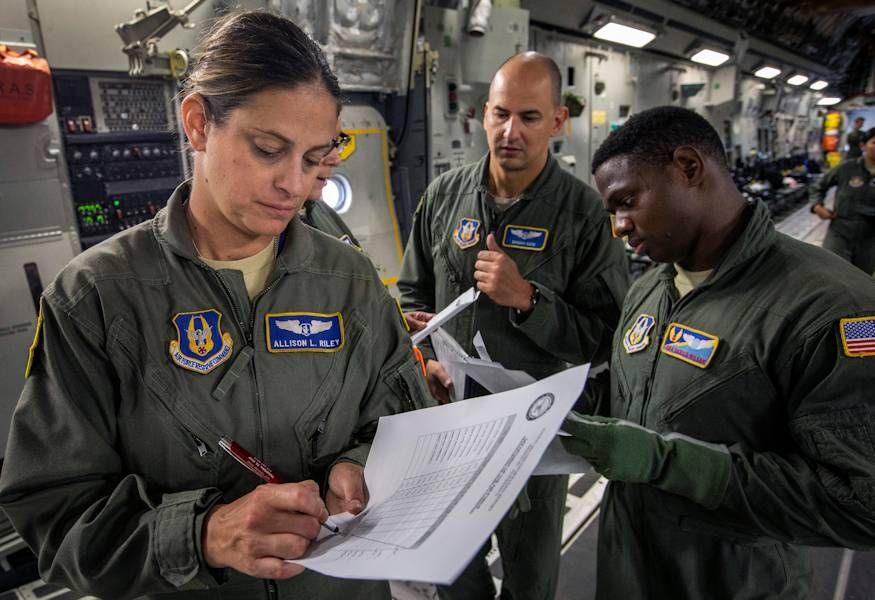 When aeromedical evacuation nurses and technicians deploy