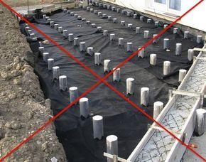Charmant Plots Béton Terrasse En Bois : Utilisez Les Plots De Fondation