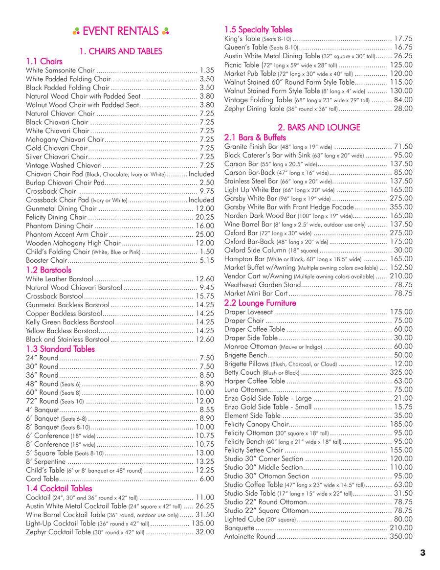 31 Wedding Decor Rental Prices Pinnozze Wedding Rentals Decor Wedding Decorations Wedding Planning Decor
