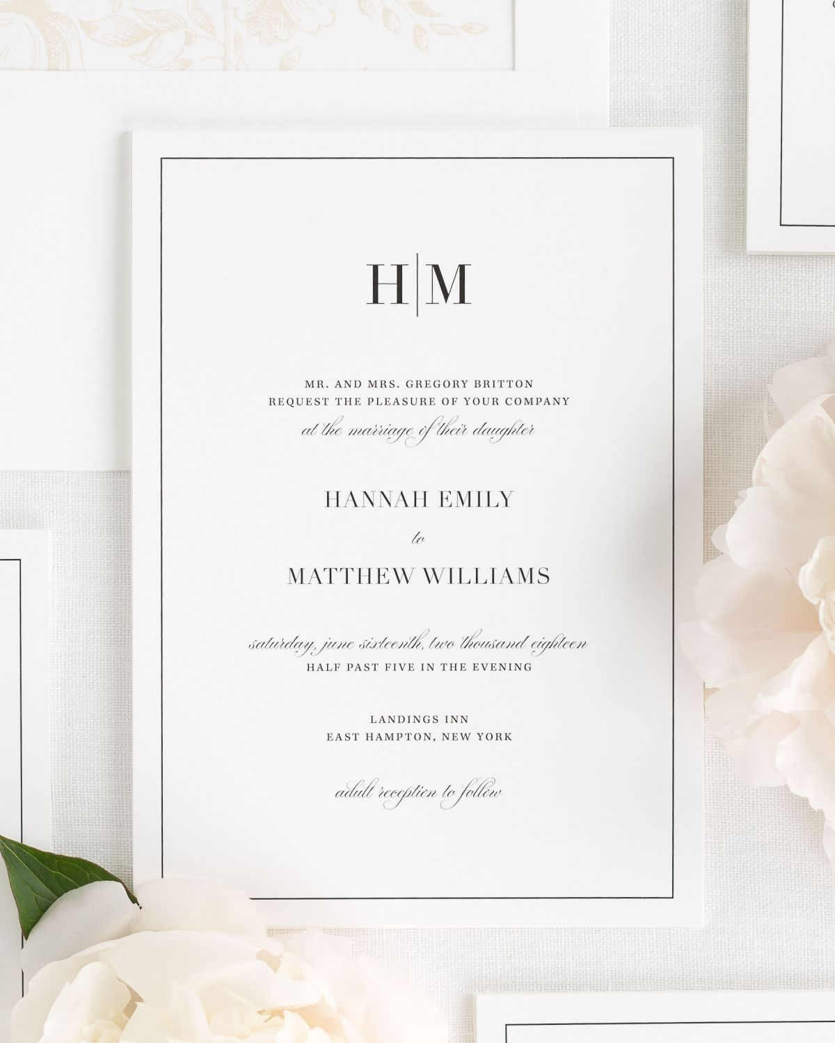 Modern Wedding Invitations WEDDING INVITATION CARDS