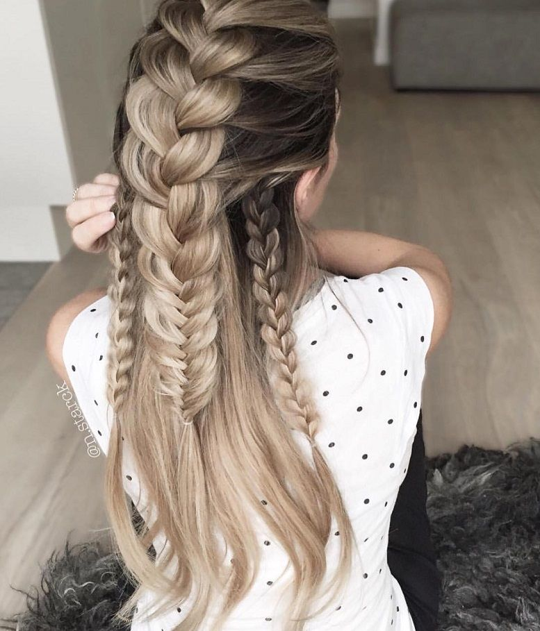 39 Trendy + Messy & Chic Braided Hairstyles –