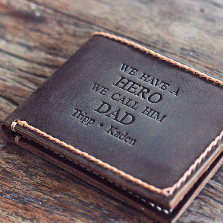 Personalized Leather Wallet, Gifts for Men, gifts for men