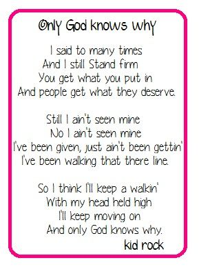 Pin By Lisa Duderstadt On Quotes Words And Thoughts Kid Rock Lyrics Kid Rock Quotes Kid Rock Picture