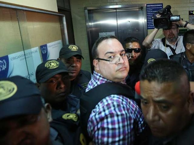 BCDigital: Trasladan a Javier Duarte a torre de Tribunales pa...