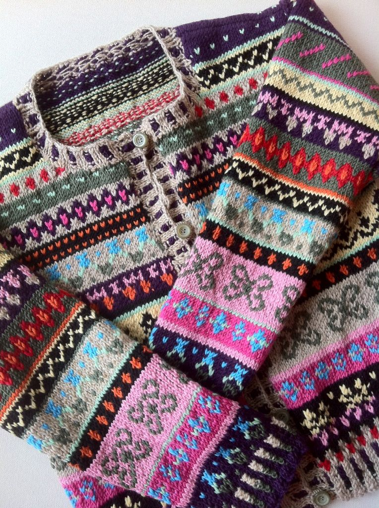 fairisle cardigan | Projects to Try | Pinterest | Fair isles ...