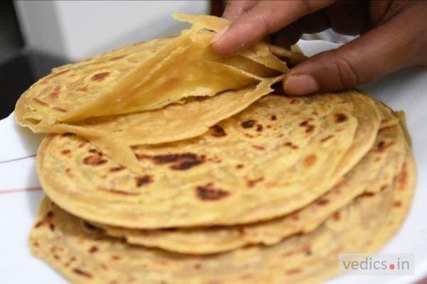 laccha paratha recipe paratha recipes food recipes clarified butter ghee on hebbar s kitchen recipes laccha paratha id=22261