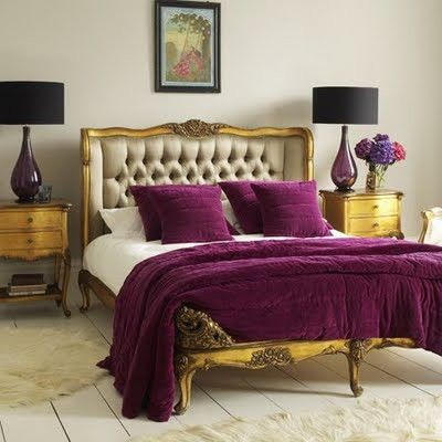 42 Purple Gold Room Ideas Rooms And
