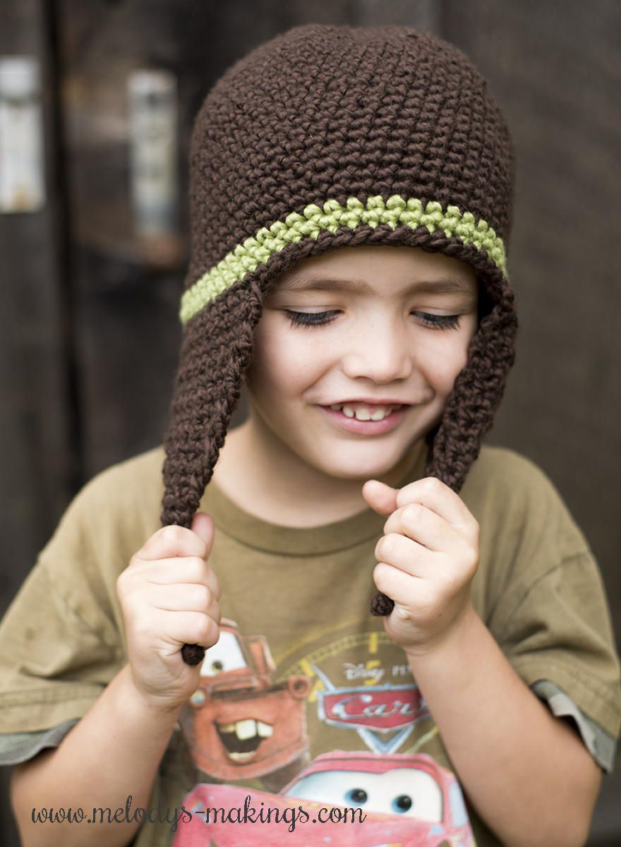 I cord earflap hat crochet pattern crochet hat patterns hat how to make crochet hats with free crochet hat patterns allfreecrochet bankloansurffo Image collections