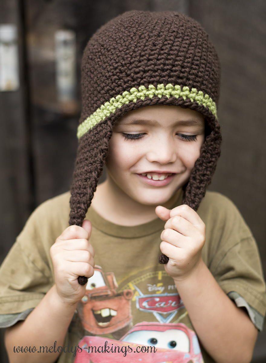 I cord earflap hat crochet pattern crochet hat patterns hat how to make crochet hats with free crochet hat patterns allfreecrochet bankloansurffo Gallery