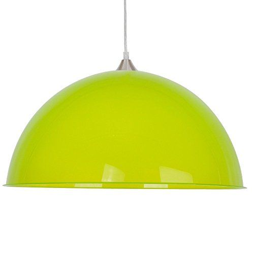 ceiling lighting kitchen contemporary pinterest lamps transparent. Modern Green Semi Transparent Dome Shade Electrical Ceiling Pendant Light Fitting - Complete With Brushed Chrome Lighting Kitchen Contemporary Pinterest Lamps A