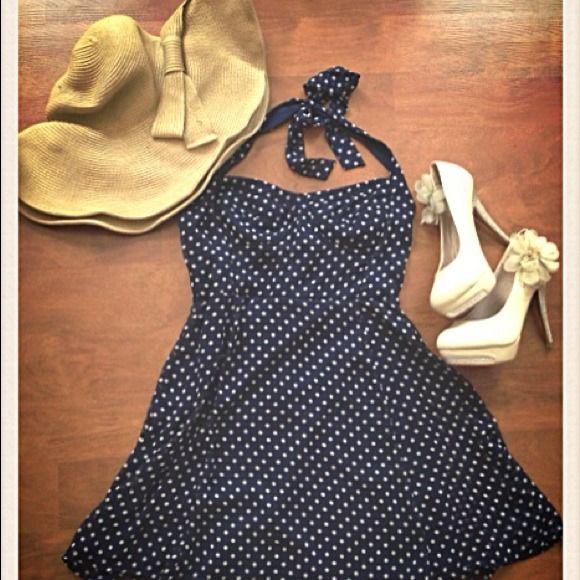 "Spotted while shopping on Poshmark: ""Vintage polka dot dress HP 4/13""! #poshmark #fashion #shopping #style #Dresses & Skirts"