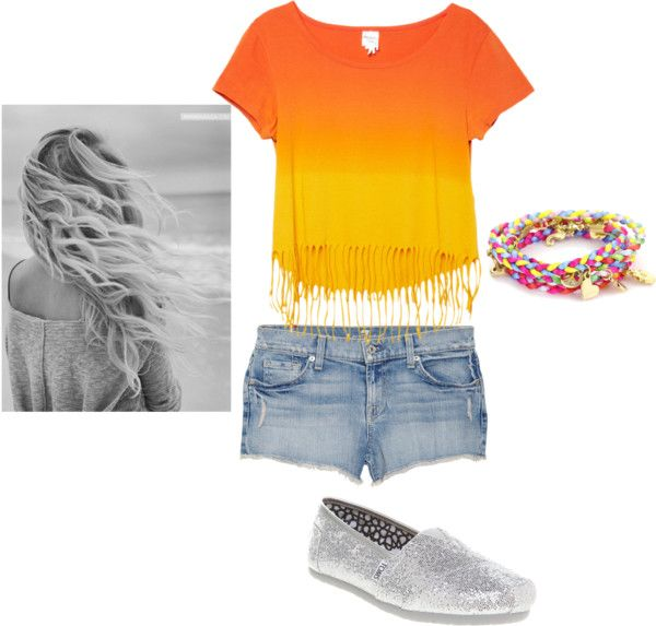 Un Dia a la playa, created by tori-masters on Polyvore