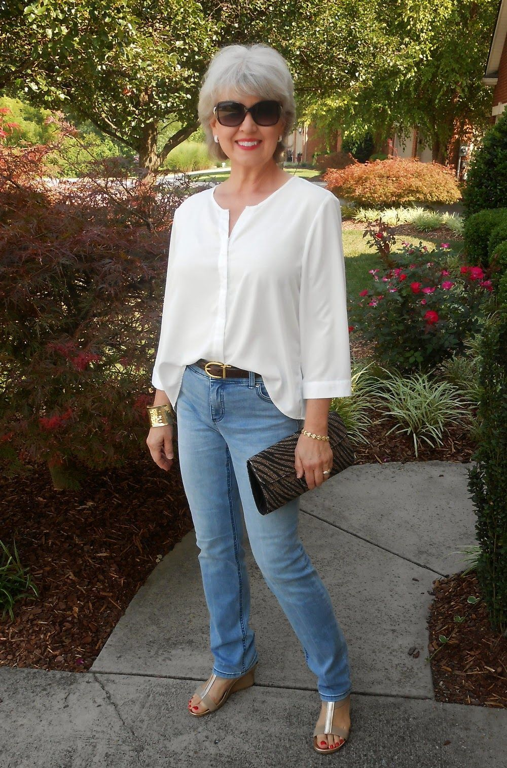 Fifty, not Frumpy: Wear It Wednesday - Shoes For All!  Over 29