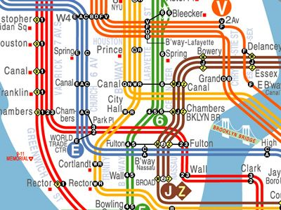 New York Subway Map Redesign.Visualcomplexity Com Nyc Subway Map Redesign Subways Nyc