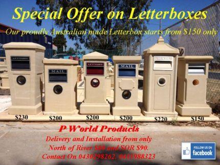 Sandstone Letterboxes for sale Australian Made .................. | Building Materials | Gumtree Australia Wanneroo Area - Landsdale | 1087071484