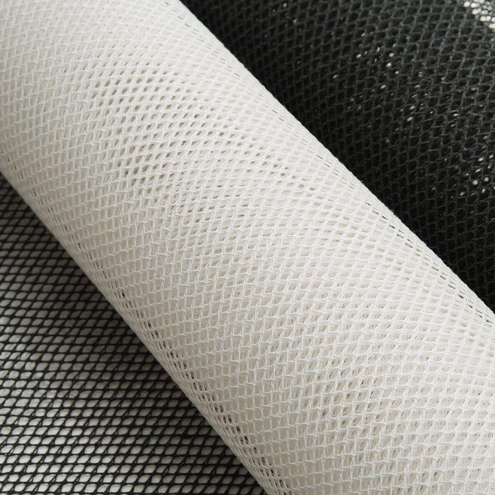 Knitted blocking Dior net, stiffened cotton buckram fabric
