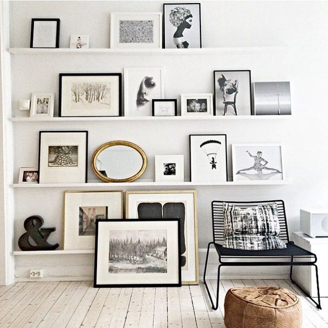 "@mariannemagraff - I love your artwall! Perfect in my eyes And I'm so happy that ""Face 3"" made it there. Thank you for sharing this lovely picture Photo: @mariannemagraff #regram #art #picturewall #tavelvegg #bildevegg #inspiration #artwork #artprint #oldandnew #perfect by annabylove"