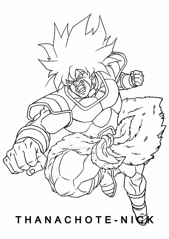 Broly Attack Dbs By Thanachote Nick On Deviantart Dragon Ball Super Artwork Dragon Ball Super Art Dragon Ball Super Manga