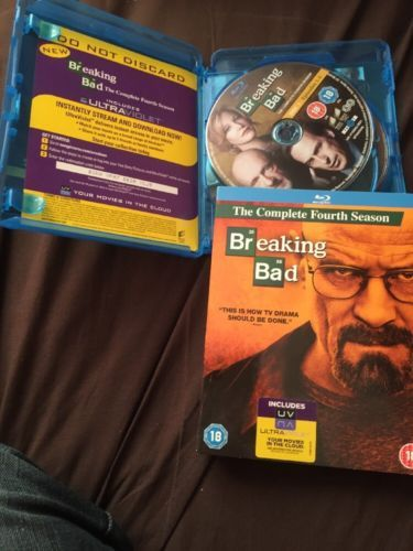 #Breaking bad - series 4 - complete #(blu-ray, #2013, 3-disc set),  View more on the LINK: 	http://www.zeppy.io/product/gb/2/252335794772/
