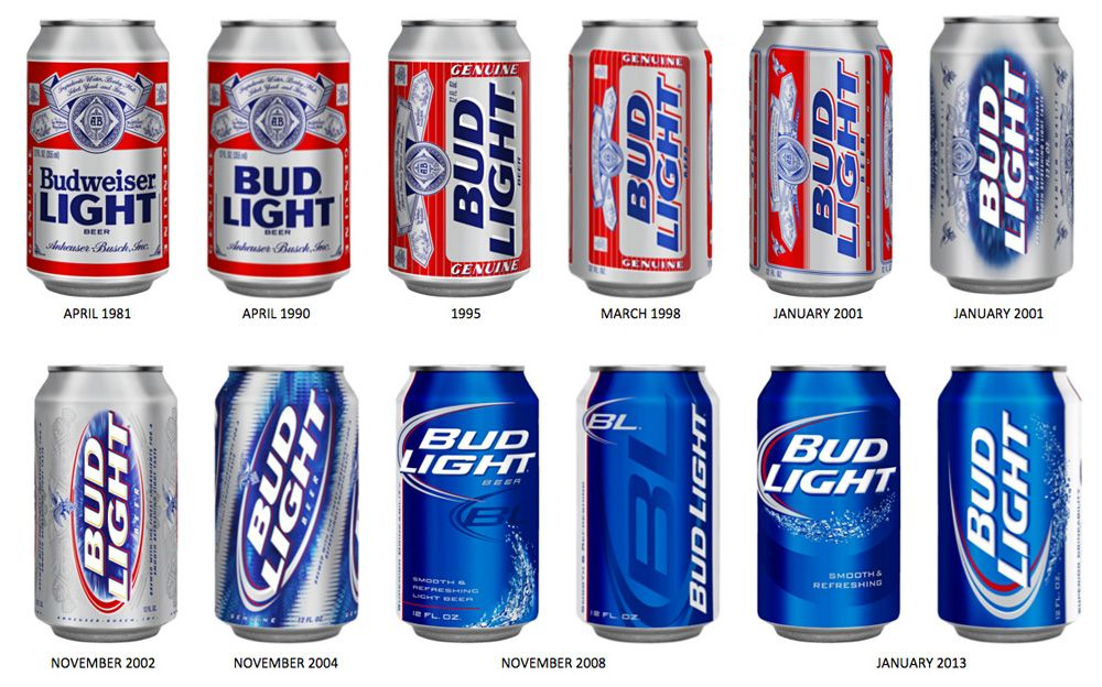 Noted: New Packaging For Bud Light By Jones Knowles Ritchie