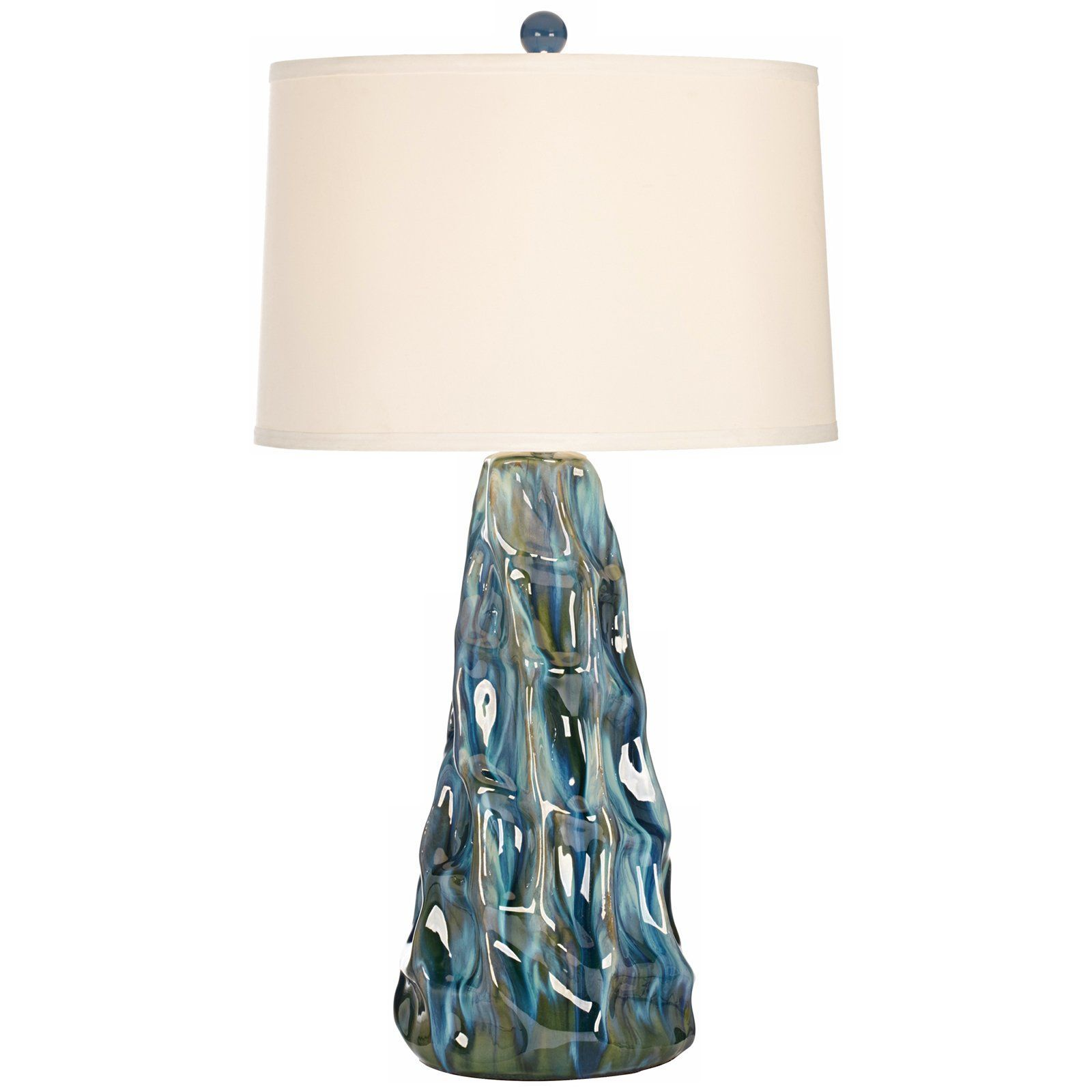 Pacific Coast Lighting Salt Water Taffy Table Lamp | from ... for Salt Water Lamp  45jwn