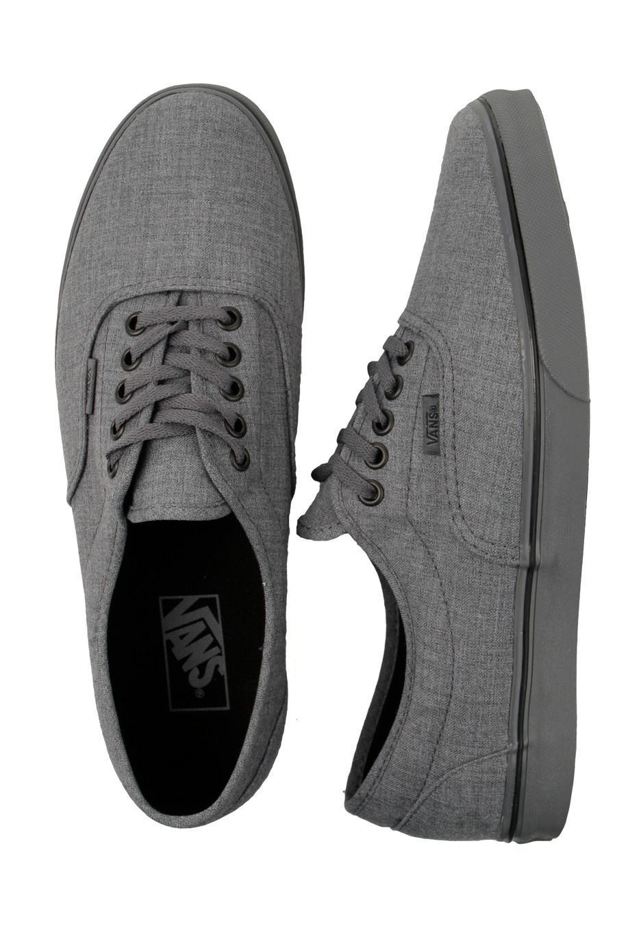 lacing. the latest addition to my vans collection. vans dressed up LPE shoe  in smoked pearl gray 6af89008d