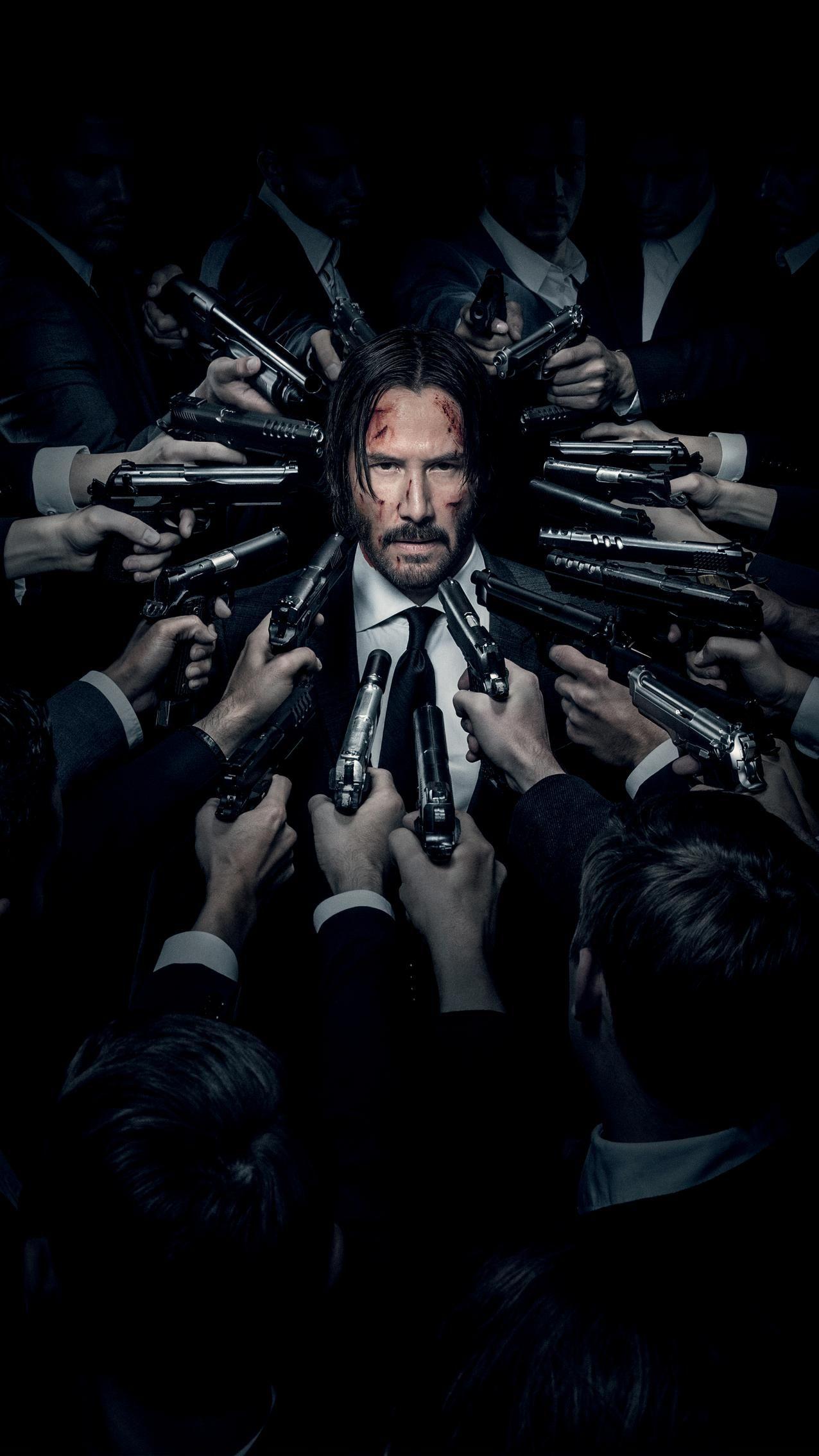 John Wick Chapter 2 2017 Phone Wallpaper Moviemania John Wick Hd John Wick Movie Keanu Reeves John Wick