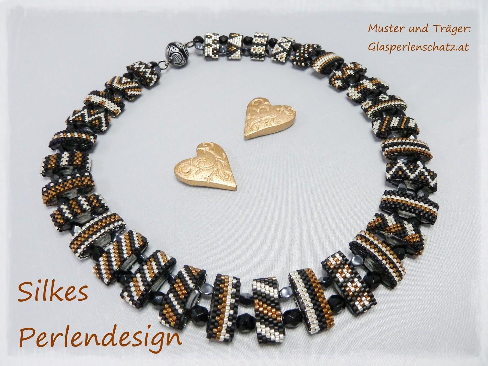 Silkes Perlendesign: Trägerperlenkette