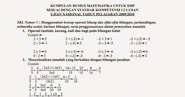 Pin Oleh Nining Widawati Di Buku Catatan Matematika Pelajaran Matematika Matematika Kelas 8 Matematika Kelas 7