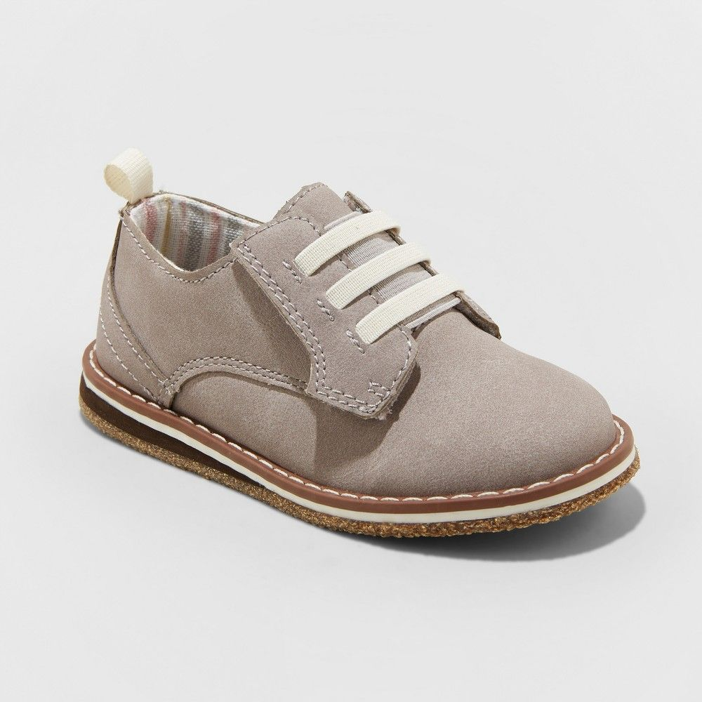 Toddler Boys' Marcellus Oxford Shoes Cat & Jack Gray 11
