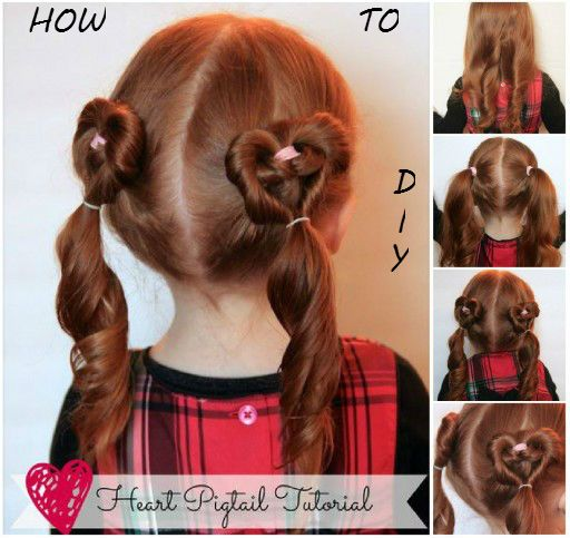 How To Do Hairstyles 5 minute office friendly hairstyles How To Do A Heart Pigtail Hairstyle Heres A Super Cute Hairstyle Which Looks Great