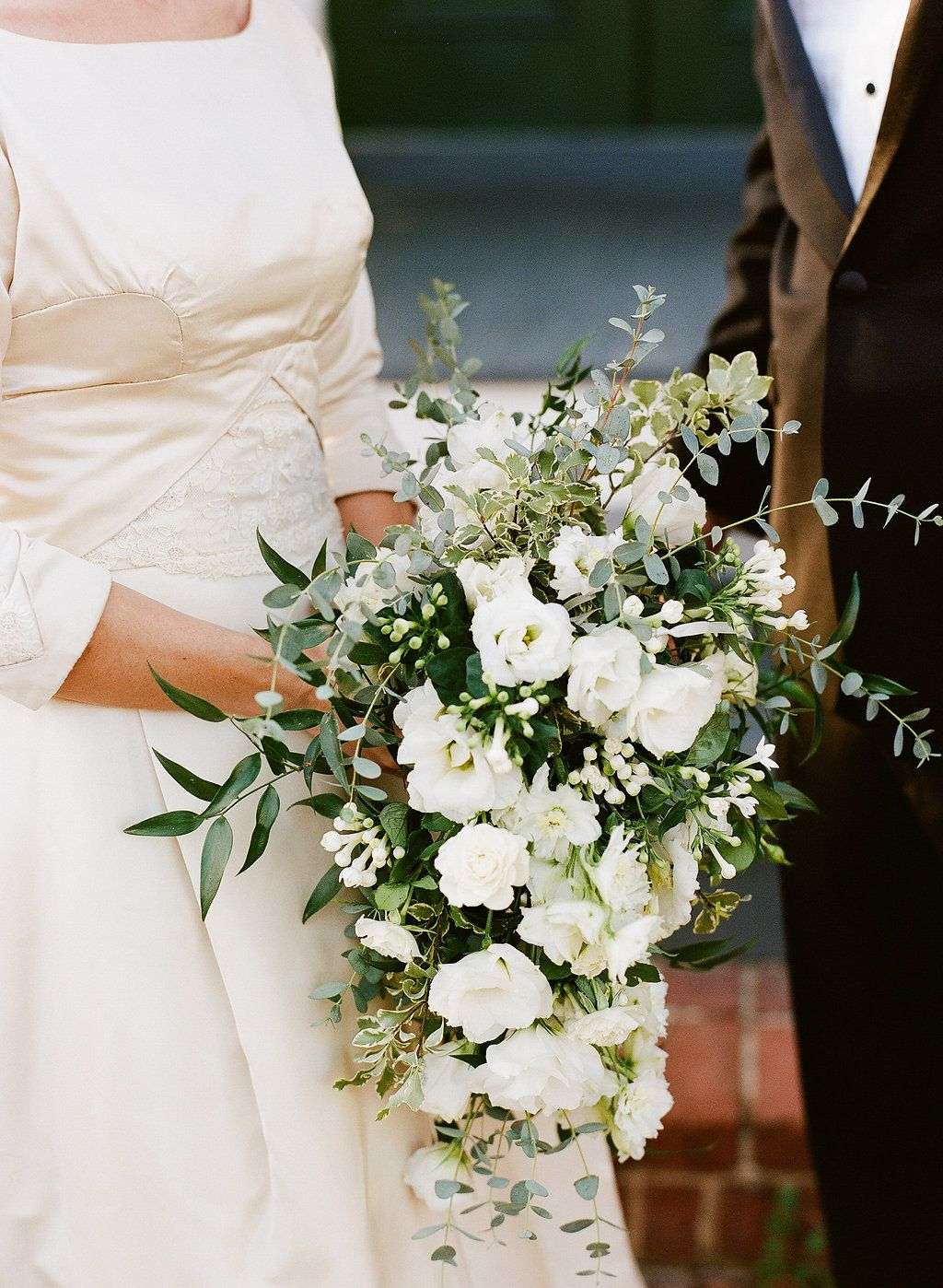 Bridal bouquet by petalsandtwigsrva.com Photo by Jen Fariello Photography