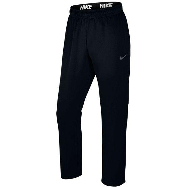 Nike Men's Therma Fleece Open-Bottom Sweatpants ($55 ...