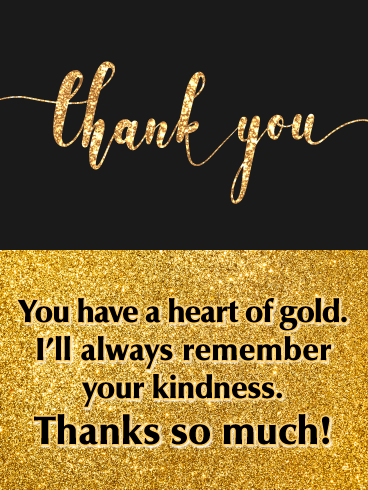 Kindness Appreciation Thank You Quotes : kindness, appreciation, thank, quotes, Heart, Thank, Birthday, Greeting, Cards, Davia, Appreciation, Quotes,, Quotes, Relationship