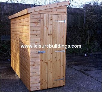 Beau 10ft X 3ft Streamline Narrow Pent Shed Looking For Kayak Storage