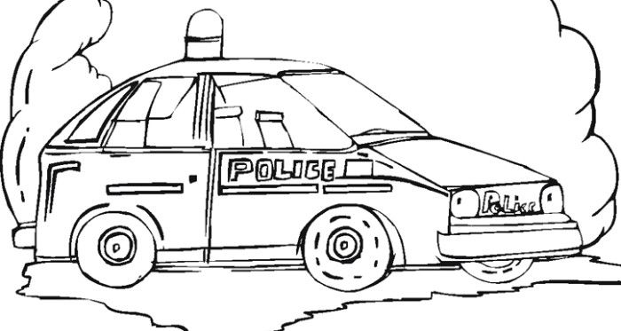 Police Officers Coloring Page Police Officer Police Cars Police