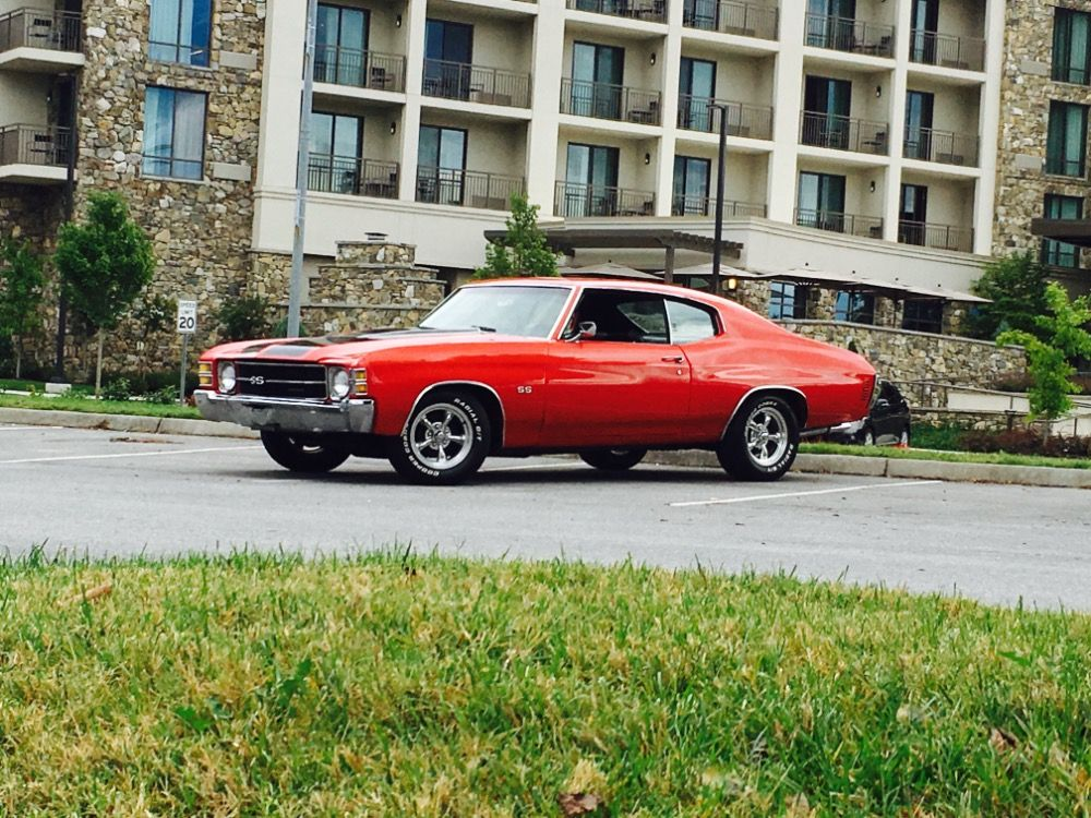 Used 1971 Chevrolet Chevelle -SS Trim NICE RED PAINT-GREAT RELIABLE ...