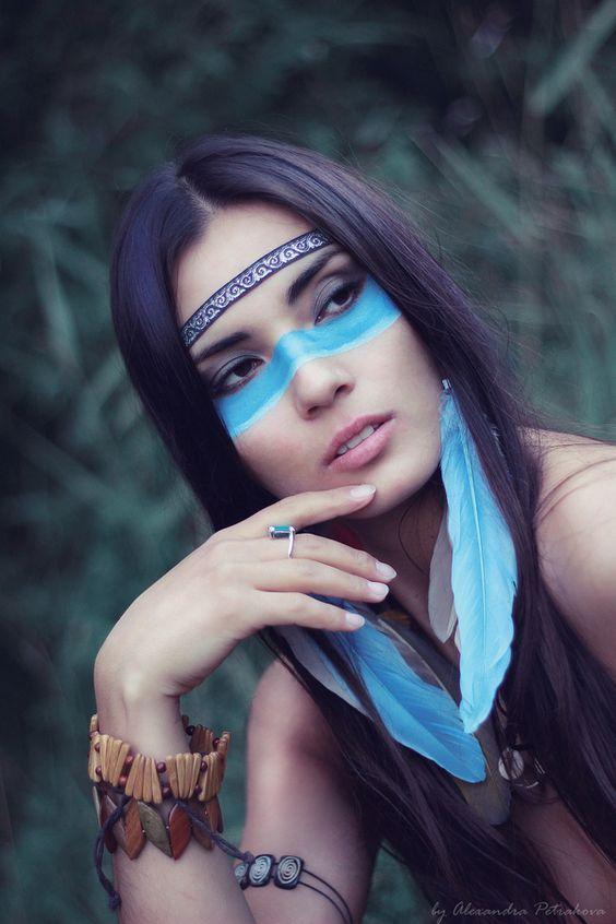 Indianerin Kostum Selber Machen Diy Anleitung Karneval