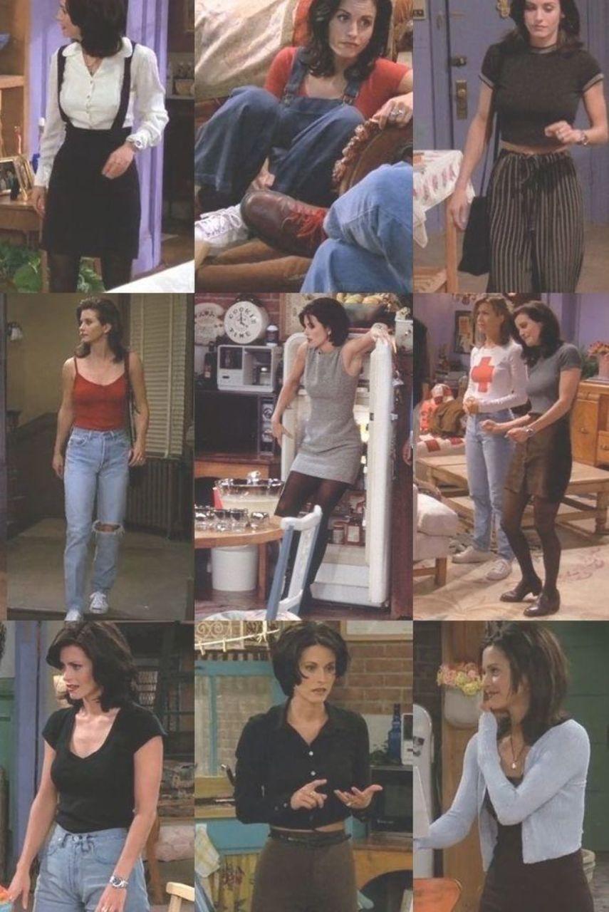 Monica Geller Outfits F.R.I.E.N.D.S #monicageller