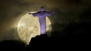 'Supermoon' , Rio de Janeiro