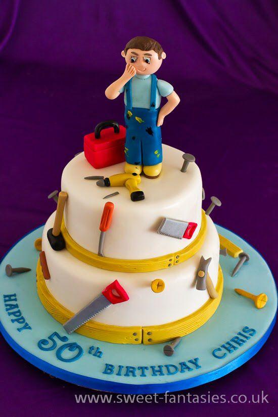 Handyman Cake Ians 6bday 90th Birthday Cakes Birthday