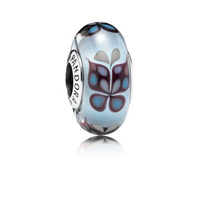 farfalle azzurre pandora