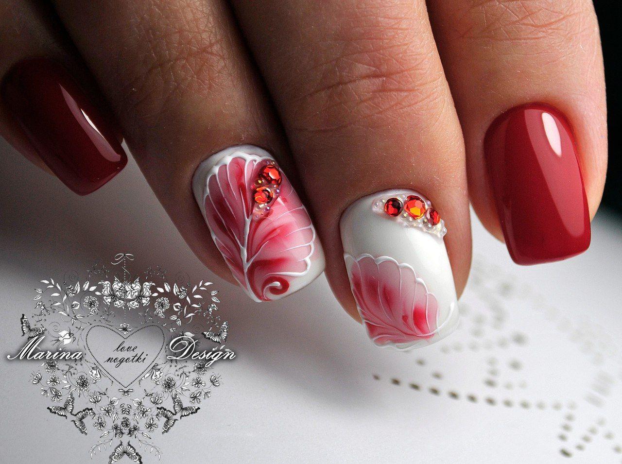 Маникюр Видеоуроки art simple nail Ногти pinterest modern