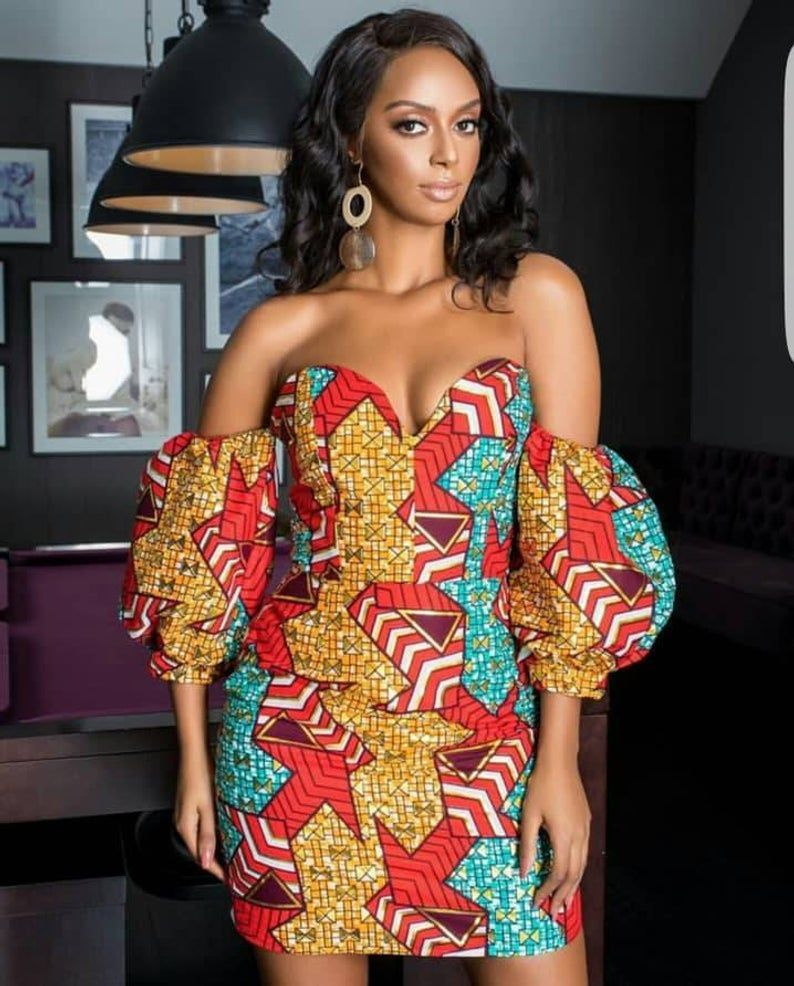 45 Fashionable African Dresses Of 2020 Ankara Dresses Of The Year African Fashion African Dress African Clothing Styles